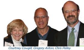 Courtney Cowgill, Greg Anton & Chris Pelley, FEI January Dinner Program